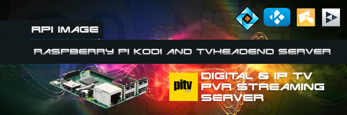 Raspberry Pi TVheadend and Kodi Server
