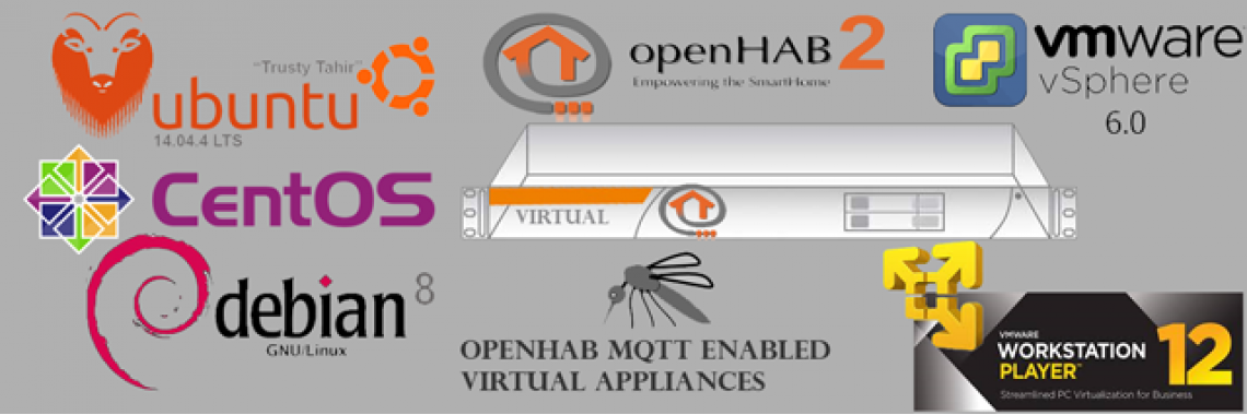 OpenHAB2 Virtual Appliances