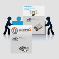 OpenHAB MQTT ESP8266-12E and Raspberry Pi